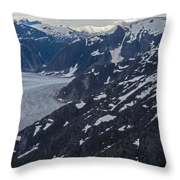 Coastal Range Awakening Throw Pillow