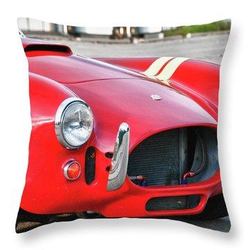 Cobra 427 Throw Pillow by Guy Whiteley