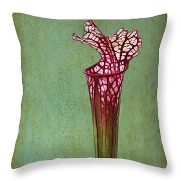 Cobra Lily Throw Pillow