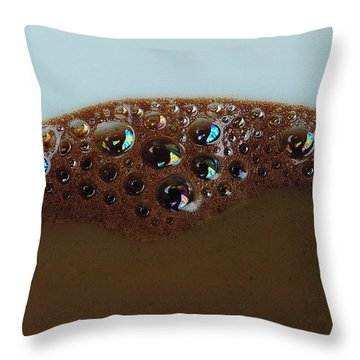 Coffee With Milk Throw Pillow