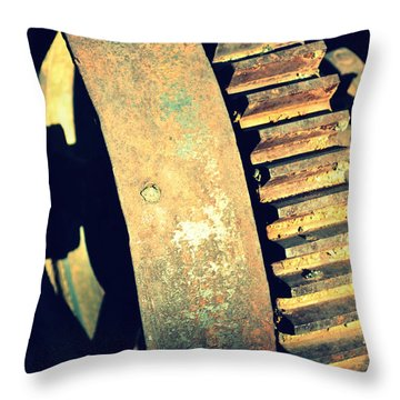 cog Throw Pillow