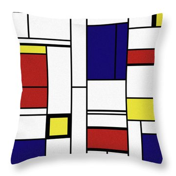 Cognition  Throw Pillow by Richard Rizzo