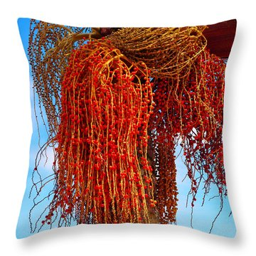 Coiffure Throw Pillow by Skip Hunt