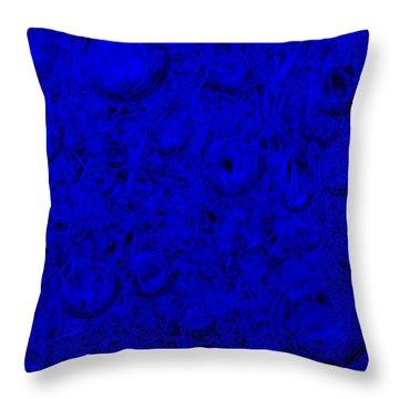 Cold Fizz Throw Pillow