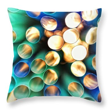 Coldheat Throw Pillow