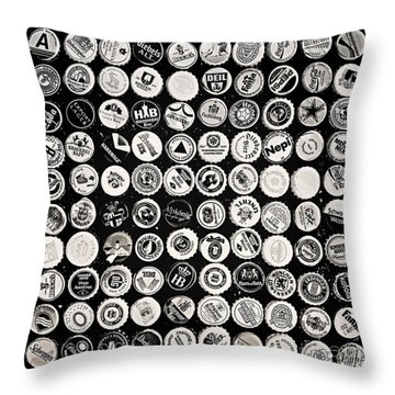 Collection Throw Pillow by Jutta Maria Pusl