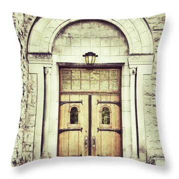 Collegiate Throw Pillow