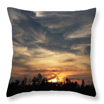 Color Creation  Throw Pillow