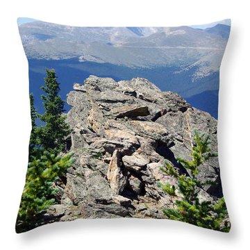 Throw Pillow featuring the photograph Colorado 11 by Deniece Platt