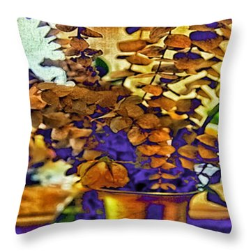 Colored Memories Throw Pillow by Madeline Ellis
