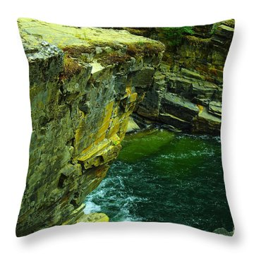 Colored Rocks  Throw Pillow
