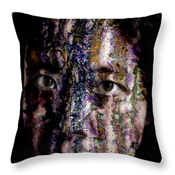 Colors Of The Wind Throw Pillow by Christopher Gaston