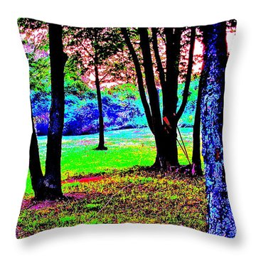 Colour Whore Throw Pillow by Xn Tyler