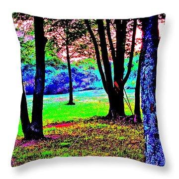 Colour Whore Throw Pillow