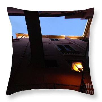 Throw Pillow featuring the photograph Colours Of Light II by Andy Prendy