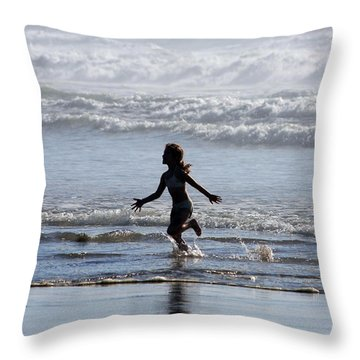 Come As A Child Throw Pillow