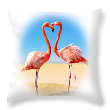 Come Fly With Me Throw Pillow by Kristin Elmquist