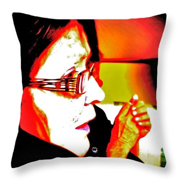 Come Here My Pretty Throw Pillow by Xn Tyler
