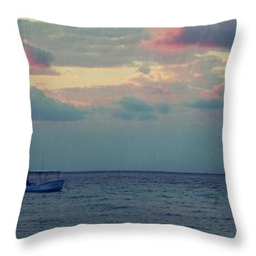Come With Me My Love Throw Pillow by Laurie Search