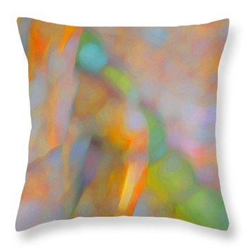 Throw Pillow featuring the digital art Comfort by Richard Laeton