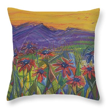 Comfortable Silence Throw Pillow by Tanielle Childers