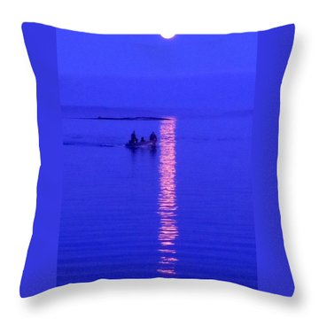 Coming Home Throw Pillow by Francine Frank