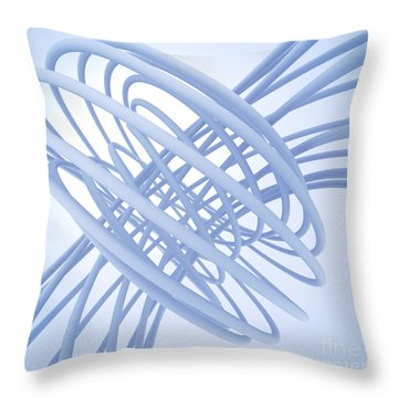 Complex Knot  Throw Pillow