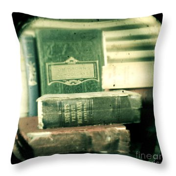 Comprehension Throw Pillow by Andrew Paranavitana