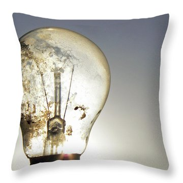 Concept Illumination  Throw Pillow by Pamela Patch