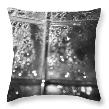 Condensate Throw Pillow