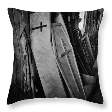Confined  Throw Pillow by The Artist Project