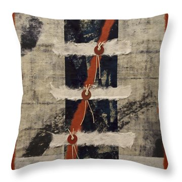 Connections Throw Pillow by Carol Leigh