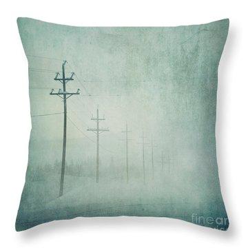 Connenction Throw Pillow by Priska Wettstein