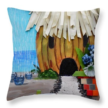 Conserve Throw Pillow by Jamie Frier