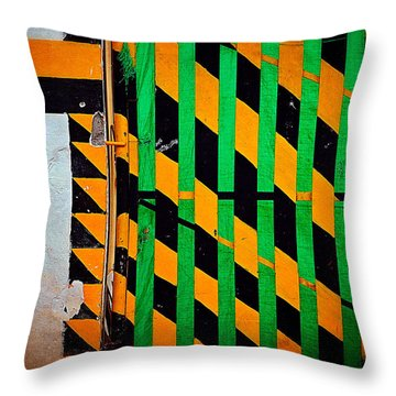 Contradiction Throw Pillow by Skip Hunt
