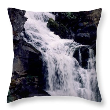 Throw Pillow featuring the photograph Cool Clear Waters by Sharon Elliott