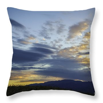 Cool Colorado Night Throw Pillow