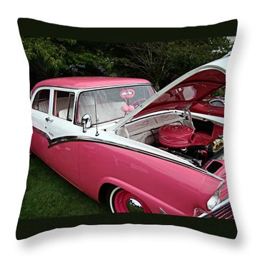 Throw Pillow featuring the photograph Cool Ford by Nick Kloepping