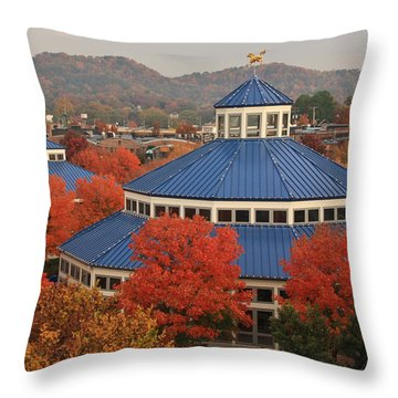 Coolidge Park Carousel Throw Pillow