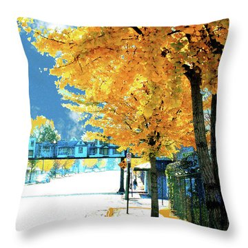 Cooper Street Memphis Throw Pillow by Lizi Beard-Ward