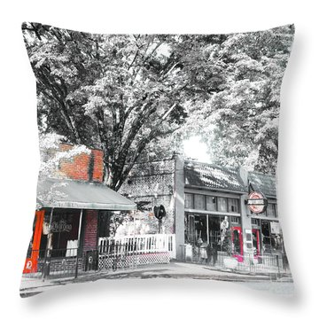 Cooper Young Places Throw Pillow