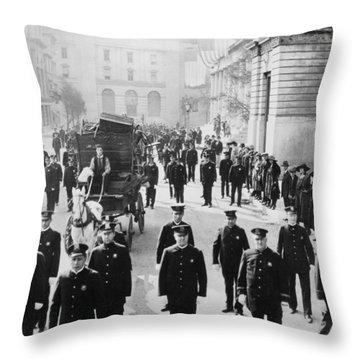 Cops, 1922 Throw Pillow by Granger