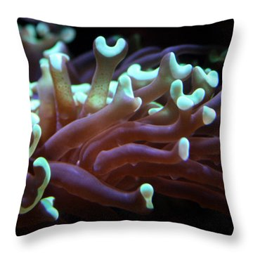Coral 1  Throw Pillow