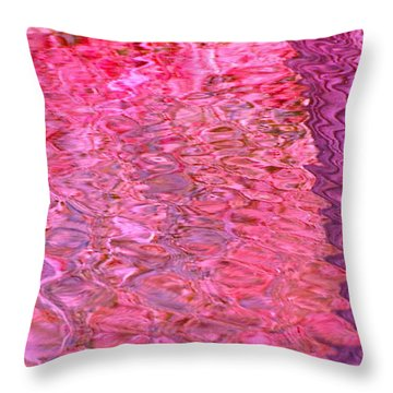 Throw Pillow featuring the photograph Coral Reef by Cindy Lee Longhini
