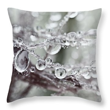 Corned Jewels Throw Pillow by Susan Capuano