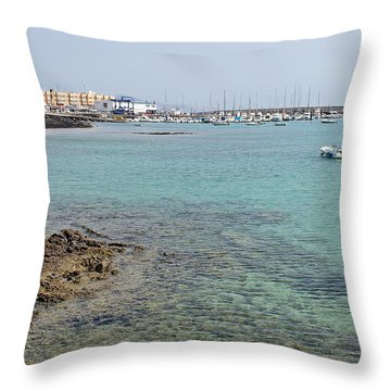 Corralejo Throw Pillow