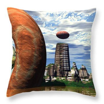 Cosmic Dance 2 Throw Pillow