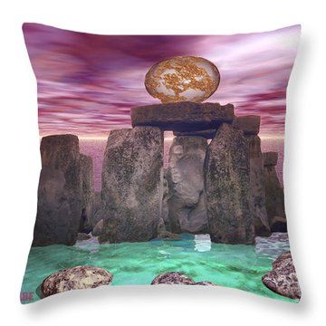 Cosmic Dance 3 Throw Pillow