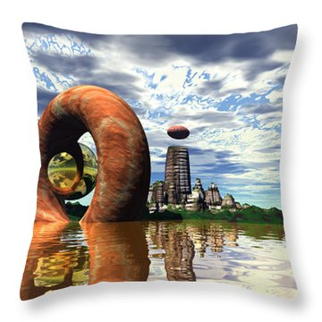 Cosmic Dance 4 Throw Pillow