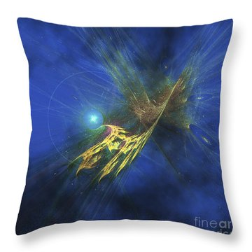 Cosmic Image Of Our Vast Universe Throw Pillow